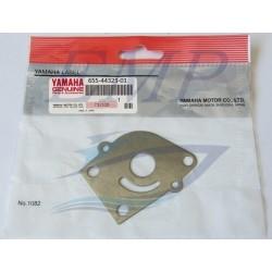 Piastrina in acciaio corpo pompa Yamaha 682-44323-00