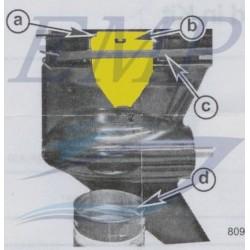 Imbuto scarico olio motore Verado Mercury, Mariner 892866A01