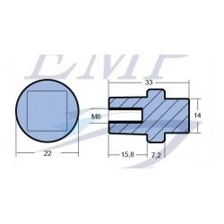 Anodo interno motore Yamaha, Selva EMP 67F-11325-01