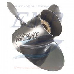 Elica 10 3/8 x 13 Vengeance inox Mercury, Mariner 19644A5