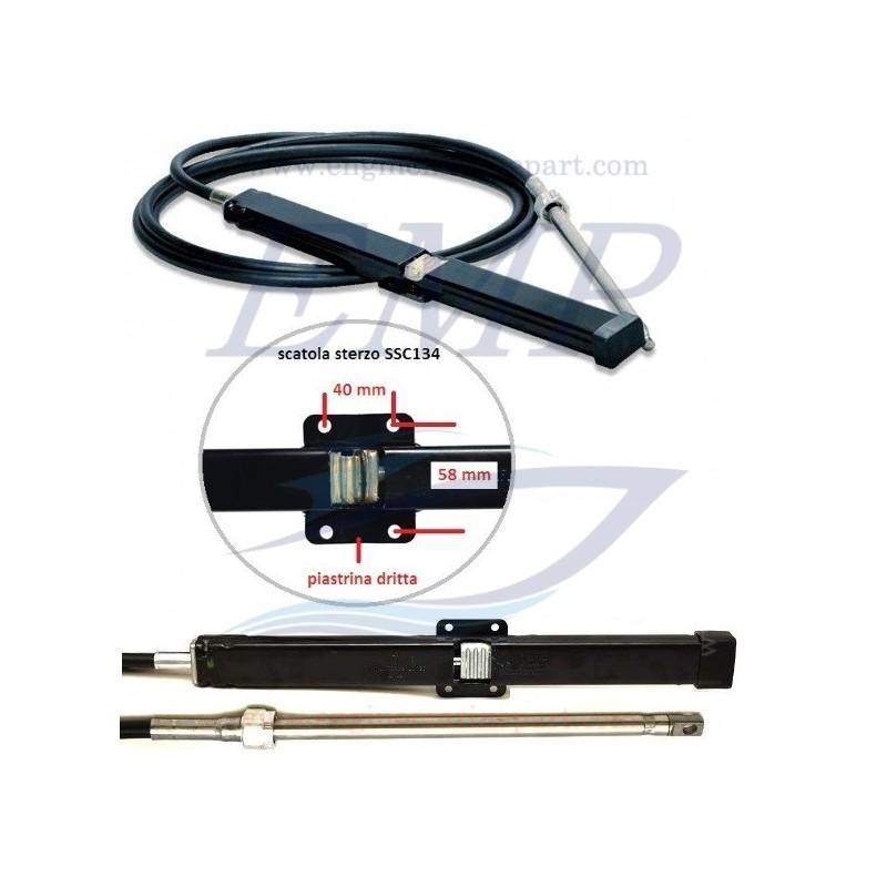Cavo timoneria meccanica a cremagliera New Rack Teleflex SSC13408 FT08
