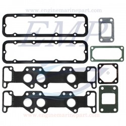 Kit guarnizioni per collettore di aspirazione e scarico Volvo Penta EMP 876367