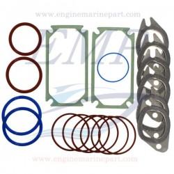 Kit guarnizioni per collettore di aspirazione e scarico Volvo Penta EMP 276052,6889671