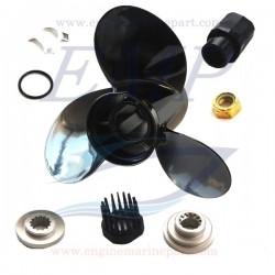 Elica 10 3/8 x 13 Black Diamond QA2078X, Honda 58130-ZV5-012AH
