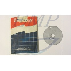 Piastrina in acciaio corpo pompa Johnson / Evinrude 0203132
