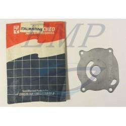 Piastrina in acciaio corpo pompa Johnson / Evinrude 0317841
