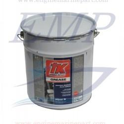 Grasso Bianco allo zinco Tk Line - 5 Kg