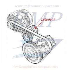 Tendinghia  alternatore 13HPE 1248 cc, FNM 2.600.011.1
