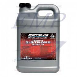 Olio miscela per motori fuoribordo a 2 tempi Quicksilver Premium 10lt