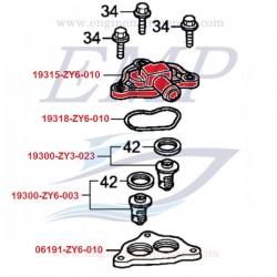 Coperchio termostato Honda 19315-ZY6-010