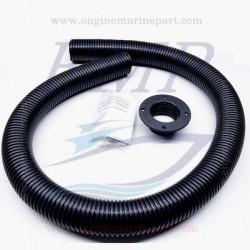 KIT installazione tubo in PVC nero spiralato Mercury, Mariner 825191A03