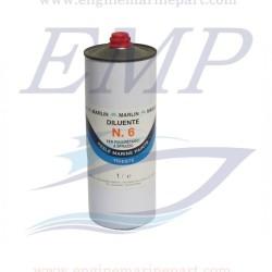Diluente poliuretanico  Marlin N. 6 - 1 Lt