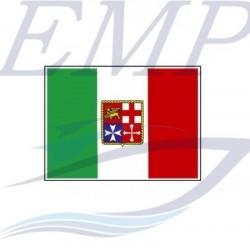 Bandiera italiana adesiva 150 x 220  in PVC lucido per imbarcazioni