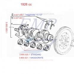 Bronzine di spallamento std. 1926cc FNM 3.027.007.1