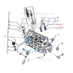 Bullone Testata FNM 4.116.422.1