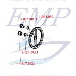 Tappo scambiatore di calore FNM 1.004.050.1