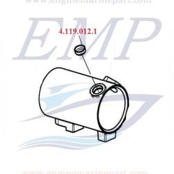 Tappo ispezione scambiatore di calore FNM 4.119.012.1