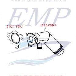 Riser di scarico1248cc FNM 1.015.039.1