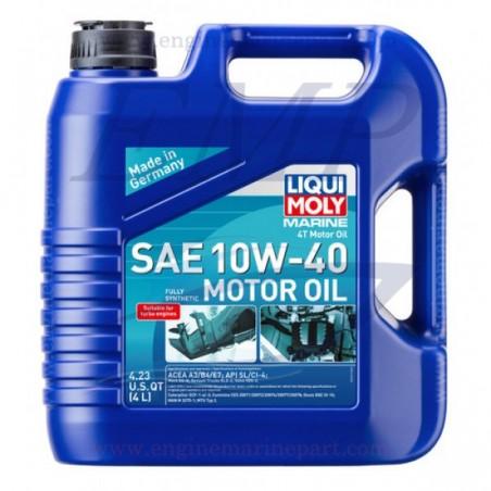 Olio motore 10W-40 4T Liqui Moly 5LT 25013