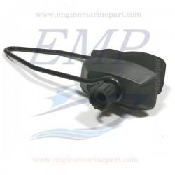 Cuffia lavaggio motore rettangolare a 1 via Fluscher Max-Flo universale