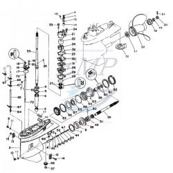 Ricambi Piede Y75C, Y90A dal 97' al 09'  Yamaha Marine