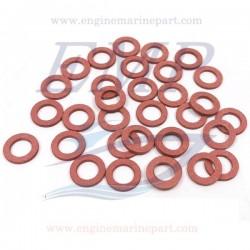 Guarnizione tappo olio piede Suzuki EMP 09168-10004, 09168-10022