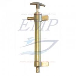 Pompa estrazione olio motore in ottone