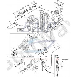O-ring filtro carburante Yamaha / Selva 6P3-24564-00