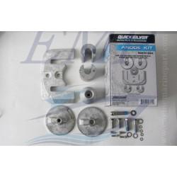 Kit anodi Alluminio piede Bravo III Mercruiser 888761Q04