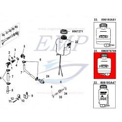 Serbatoio olio piede Mercruiser 806193A13, A30, A31, A36, A46, 8M0075709