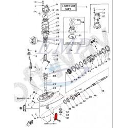 Presa acqua piede Yamaha 689-45214-01