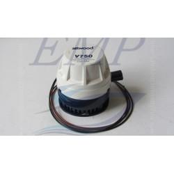 Pompa di sentina elettrica ad immersione  V750