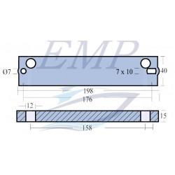 Anodo Johnson / Evinrude EMP 5030907 MG