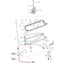Tubo astina olio Mercruiser 860209T, A1