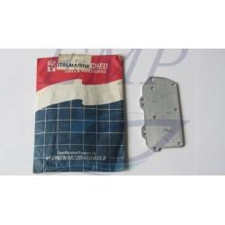 Piastra coperchio scarico Johnson / Evinrude 0323263