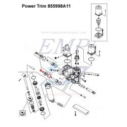 Kit gommini stelo power trim Mercury / Mariner 855998A11