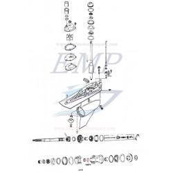 Paraolio asse elica Mercury, Mercruiser 14077
