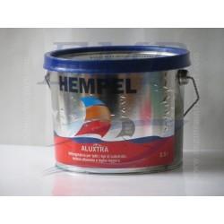 Antivegetativa per tutti i tipi di substrato Hempel Aluxtra Grigio Volvo 2,5 lt