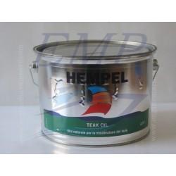 Olio impregnante Hempel Oil Teak - 2,5 lt