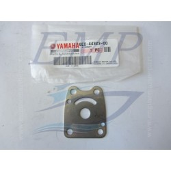 Piastrina in acciaio corpo pompa Yamaha 6E0-44323-00