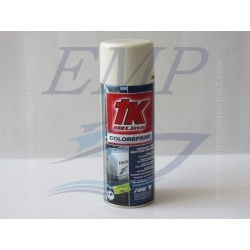 Vernice spray bianco 81' Johnson