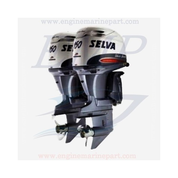 HPDI HP150 WHITE SHARK SELVA YAMAHA