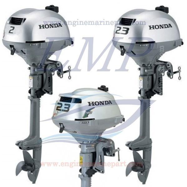 BF2D, BF2.3B, BF2.3D 57cc Ricambi Honda Marine