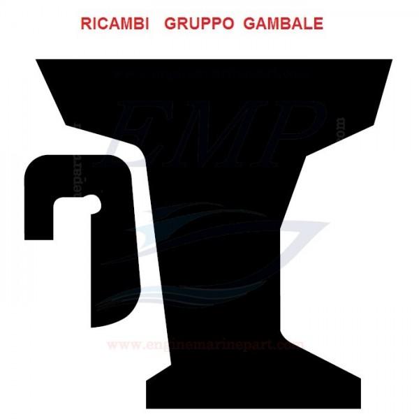 Ricambi gambale Johnson- Evinrude-BRP