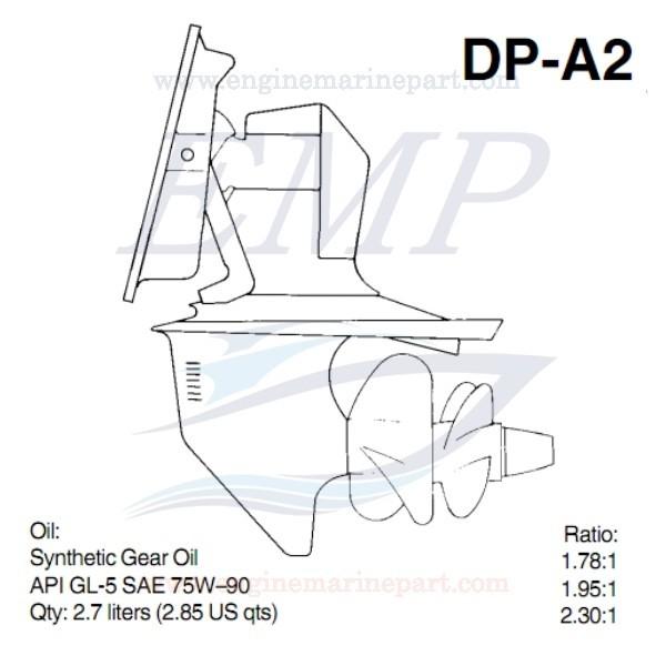 DP-A2 PIEDE VOLVO PENTA