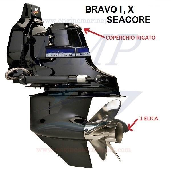 BRAVO ONE, X  SEACORE RICAMBI PIEDE MERCRUISER