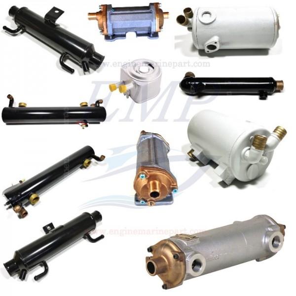 Scambiatori di calore acqua, olio e gasolio Mercuiser