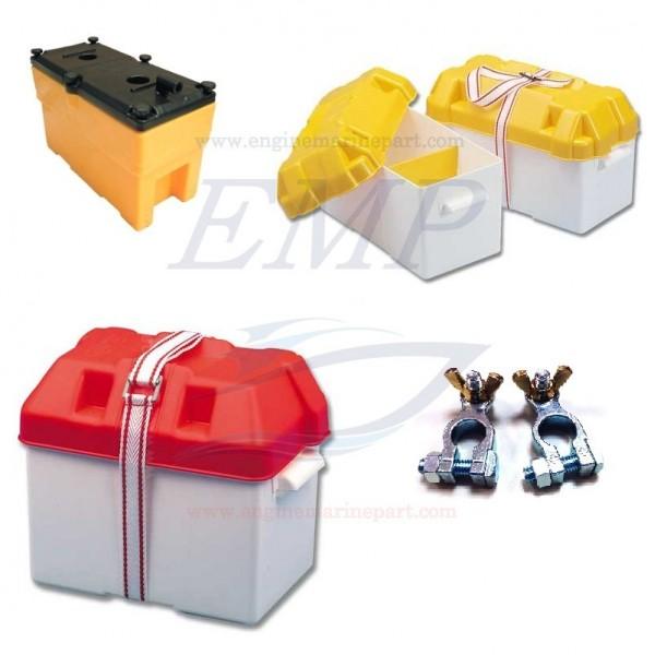 Portabatterie e morsetti