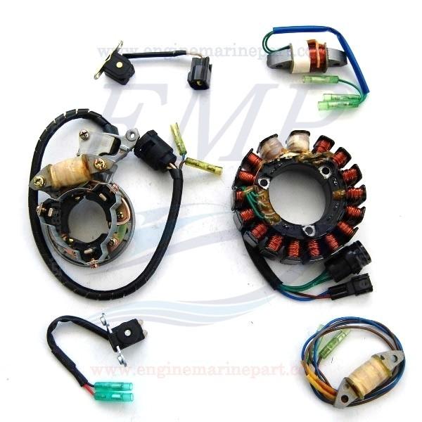 Statore,bobina di carica e PK  Yamaha