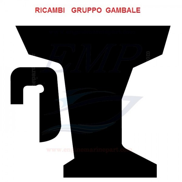 Ricambi gambale Yamaha